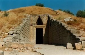 tombeau d'Atrée; Mycènes